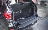 BMW X5's split tailgate