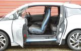 BMW i3 suicide doors