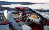 Bentley Continental GTC interior