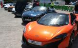 Who makes the best supercars? Only a noisy tunnel blast can decide