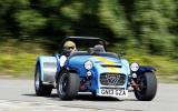 Caterham 620R hard cornering