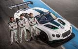 Modern-day Bentley boys gear up for Continental GT3's debut