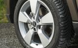 17in Skoda Yeti Outdoor alloys