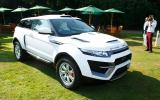 Salon Prive 2013: Clark Abel design Range Rover Evoque 'Dakar' revealed