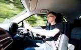 Driving the MG 3