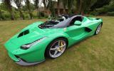 Koenigsegg, Pagani, Ferrari and McLaren to star at Salon Prive
