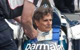 Nelson Piquet reunited with BMW-powered Brabham BT52 at Goodwood