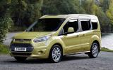 Ford Tourneo Connect cornering