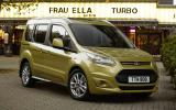 Five-seat Ford Tourneo Connect