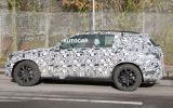 Mercedes-Benz GLK spotted testing