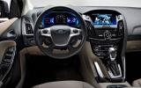 Ford Focus Electric dashboard