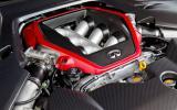 3.8-litre V6 Infiniti Q50 Eau Rouge