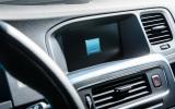 Volvo V60 Polestar infotainment system
