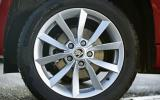 17in Skoda Yeti SE alloys