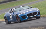 Bolt from the blue: driving Jaguar's Project 7