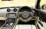 Jaguar XJ LWB dashboard