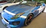 Extreme Jaguar F-type at Goodwood