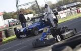 Caterham Seven versus go-kart
