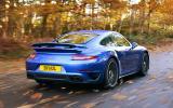 Porsche 911 Turbo rear quarter