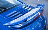 Porsche 911 Turbo rear wing