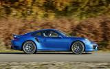 Porsche 911 Turbo side profile