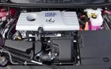 1.8-litre Lexus CT200h F-Sport petrol engine