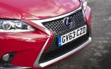 Lexus CT200h F-sport front end