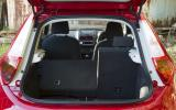 MG3 boot space