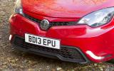 MG3 front end