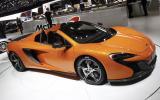 McLaren 650S Spider joins supercar range