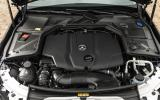 2.0-litre Mercedes-Benz C 250 engine