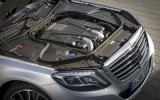 4.7-litre V8 Mercedes-Benz S 500 L engine