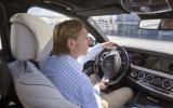 Driving the Mercedes-Benz S 500 L