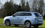 200bhp Mitsubishi Outlander PHEV