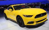 2015 Ford Mustang gets public debut in Detroit