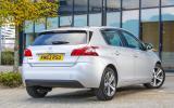 Peugeot 308 1.6 HDi rear quarter