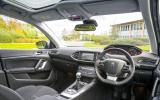 Peugeot 308 1.6 HDi dashboard