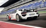 Porsche 918 Spyder improves performance