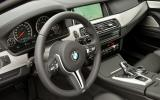 BMW M5 Competition Package dashboard