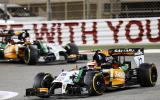 Hamilton fends off Rosberg for Bahrain GP victory
