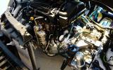 Peugeot 2008 Hybrid Air prototype engine bay