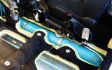 Peugeot 2008 Hybrid Air prototype air fuel tanks