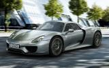 Porsche 918 Spyder unveiled at Frankfurt