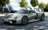 Porsche 918 Spyder unveiled at Frankfurt
