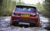Range Rover Sport SDV8 rear