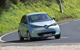 Renault Zoe cornering