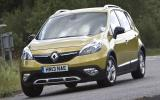 Renault Scenic XMOD cornering