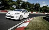 Toyota Prius Plug-in hybrid records 698mpg Nurburgring lap