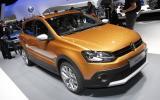 New Volkswagen CrossPolo shown in Geneva