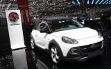 Vauxhall Adam Rocks crossover to launch this summer